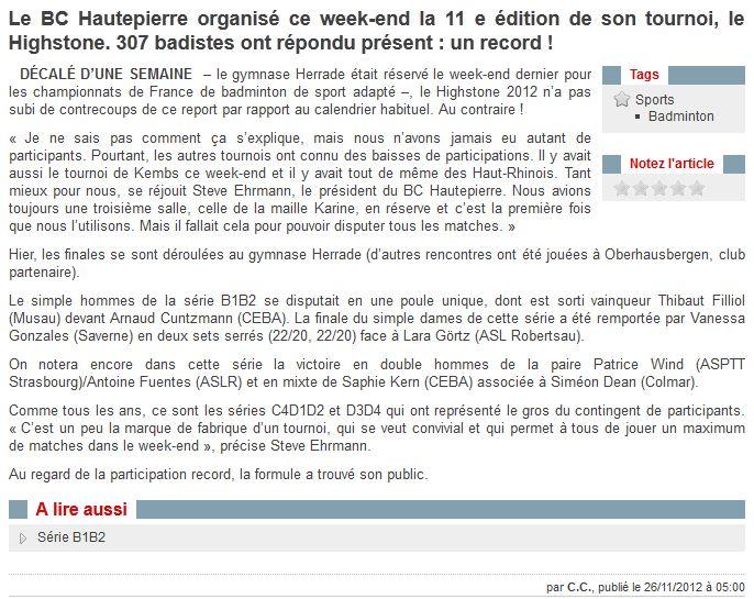 can 2012 calendrier des rencontres
